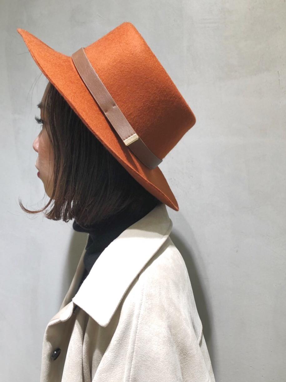 CASSELINI キャセリーニ scrapbook スクラップ ブック ハット hat 帽子 東武池袋 池袋東武 東武百貨店