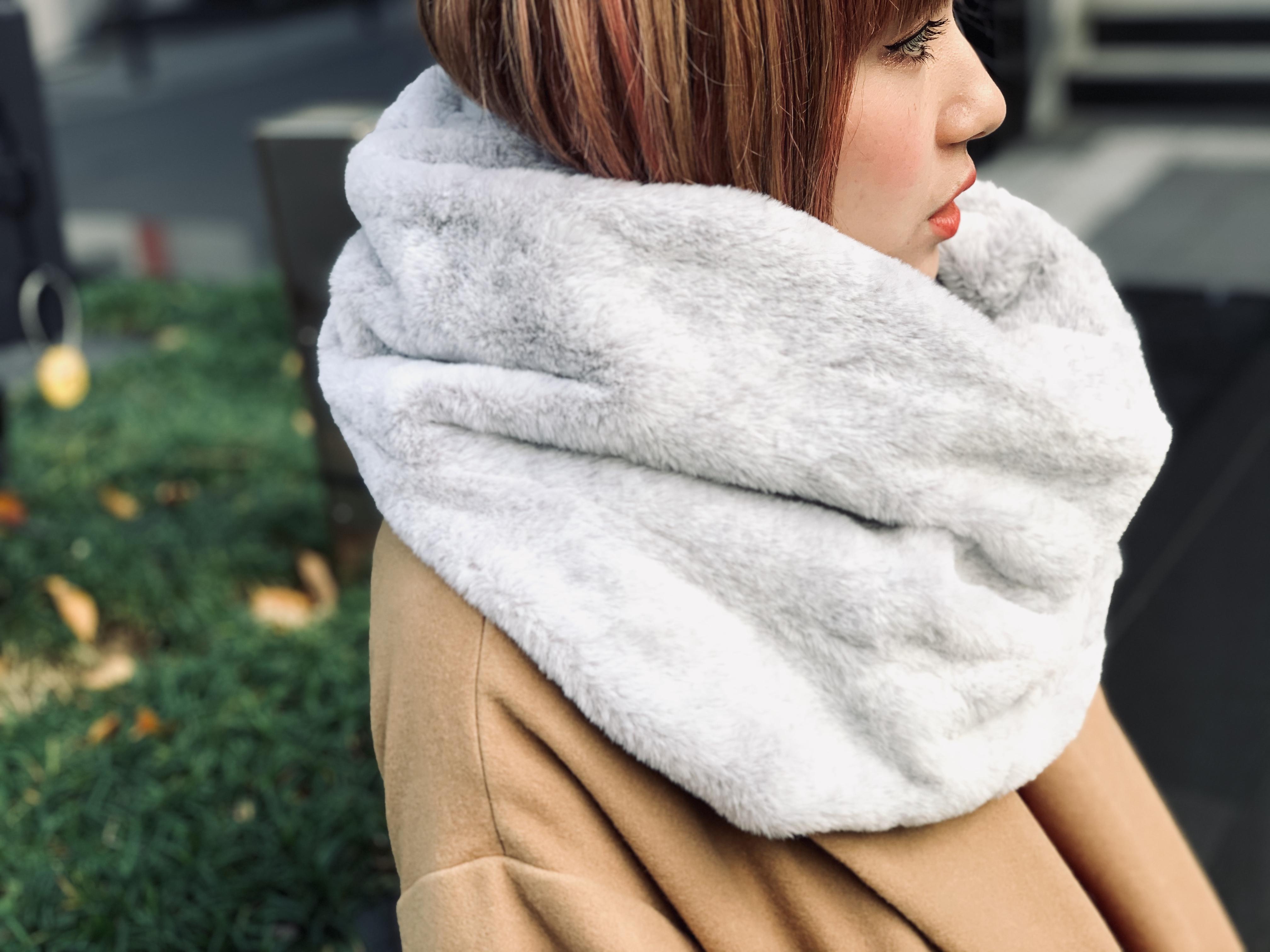 スクラップブック 渋谷 ヒカリエ スヌード マフラー プレゼント ギフト クリスマス