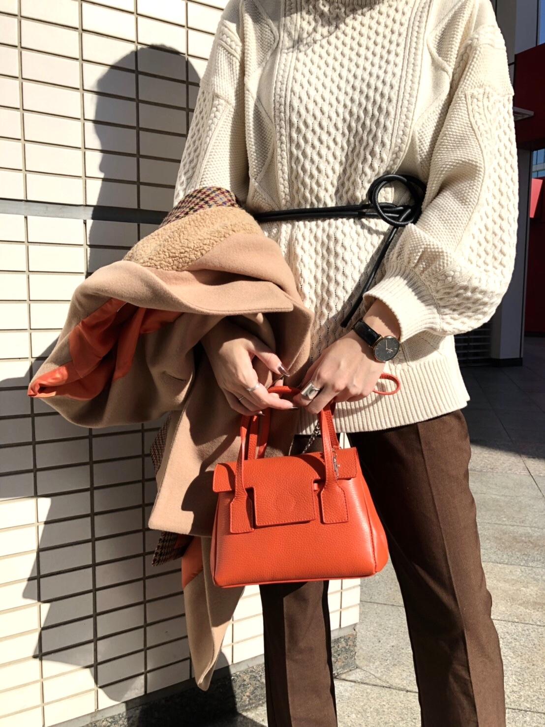 MILOS ミロス scrapbook スクラップ ブック バッグ bag ミニトートバッグ 牛革 東武池袋 池袋東武 東武百貨店