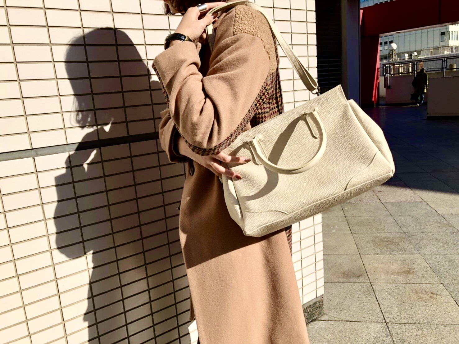 MILOS ミロス scrapbook スクラップ ブック バッグ bag トートバッグ 牛革 東武池袋 池袋東武 東武百貨店