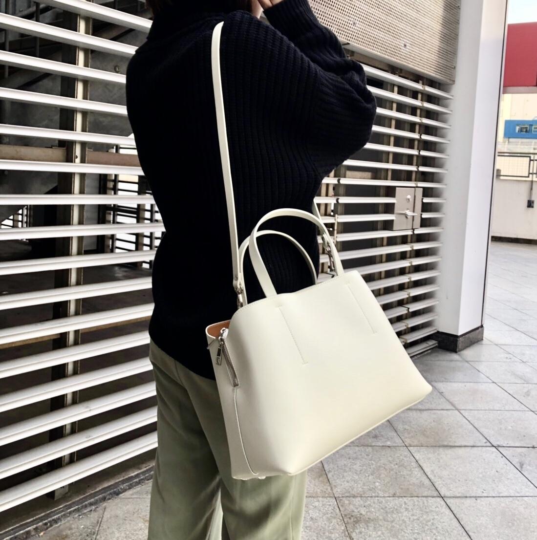 MILOS ミロス scrapbook スクラップ ブック バッグ bag トートバッグ ショルダーバッグ 牛革 東武池袋 池袋東武 東武百貨店