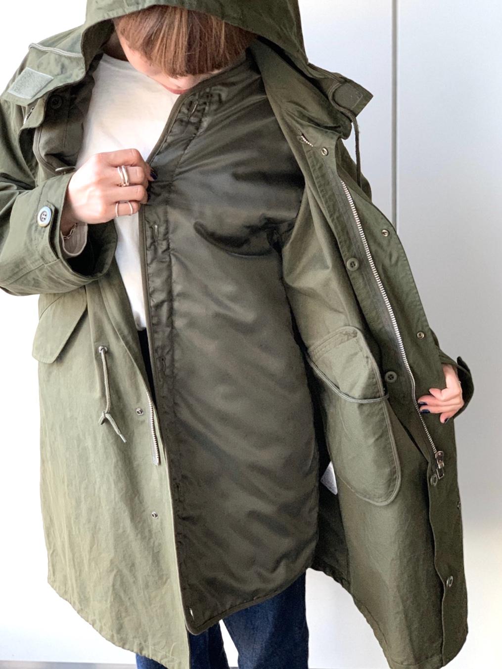 ScrapBook スクラップブック 有楽町 有楽町マルイ THOMAS MAGPIE トーマスマグバイ 日本ブランド 福岡 モッズコート ミリタリーコート khaki カーキ ライナー付き ライナー付きコート coat