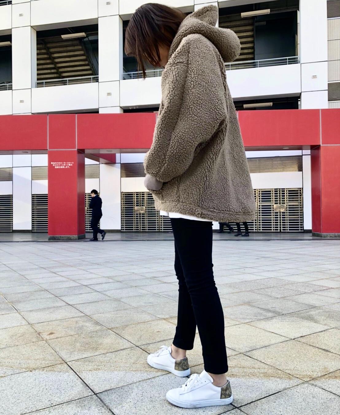 THOMAS MAGPIE トーマスマグパイScrapBook スクラップブック パーカー ボア wear 東武池袋 池袋東武 東武百貨店