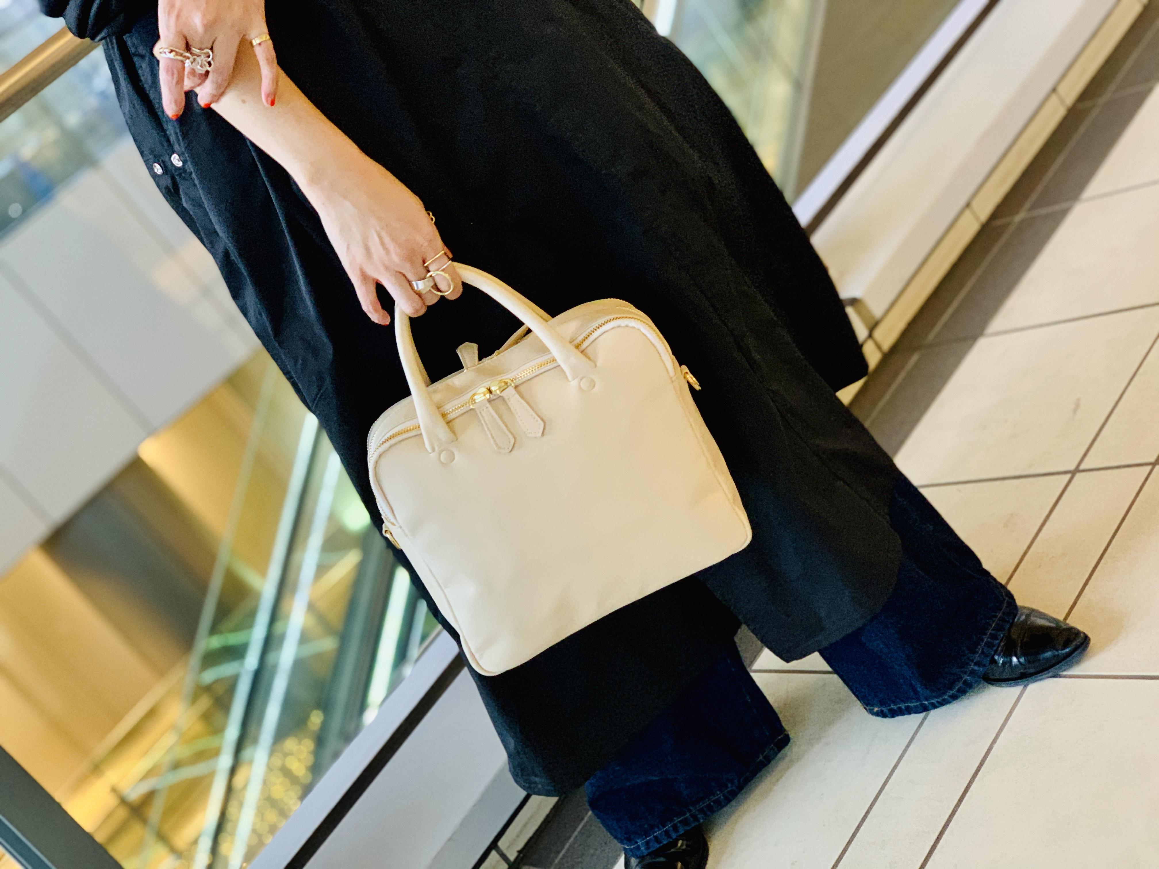 スクラップブック 渋谷 ヒカリエ bag バッグ ポンタタ POMATATA トートバッグ バッグ 日本製 牛革