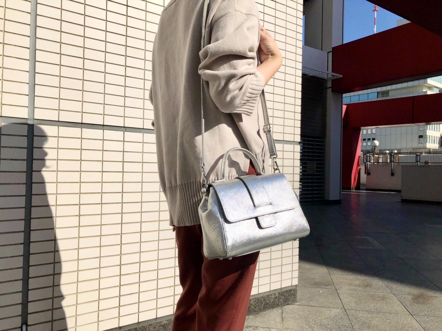 MY BEST BAGS マイベストバッグ scrapbook スクラップ ブック バッグ bag ショルダーバッグ shoulder bag 牛革 東武池袋 池袋東武 東武百貨店