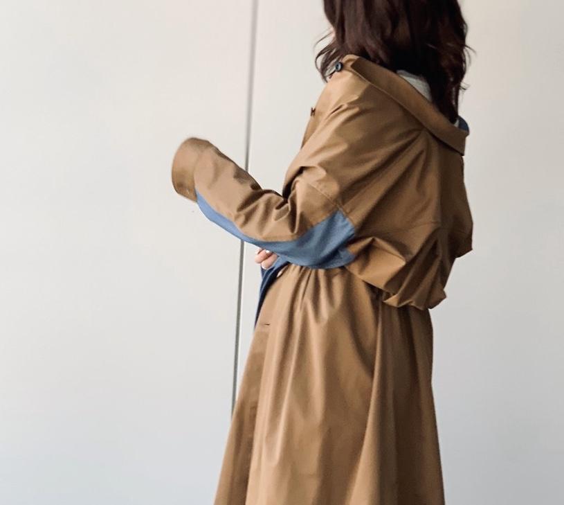 ScrapBook スクラップブック 有楽町 有楽町マルイ La SRIC ラ スラック  日本ブランド 日本製 ワンピース ONE PIECE outer アウター 春 スプリングコート spring coat デニム トレンチ 珍しいデザイン
