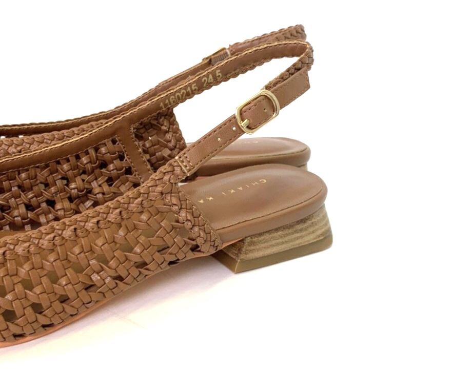 チアキ カタギリ スクラップブック Scrap Book バックストラップサンダル sandals メッシュ素材サンダル ポリウレタン インソールクッション フラットサンダル 日本ブランド
