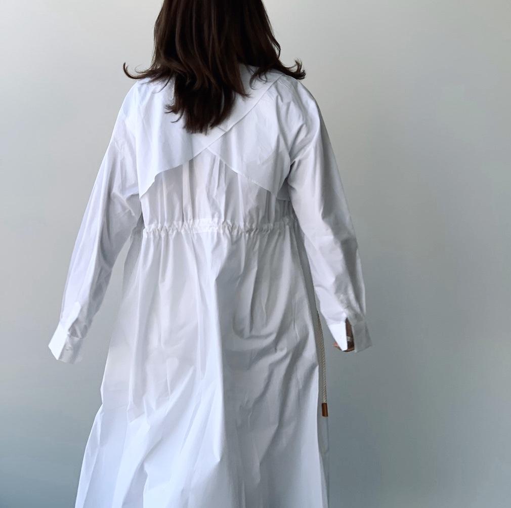 scrap book スクラップブック THE TINT ザ.ティント 韓国ブランド white ホワイト コート coat ワンピース one piece ライトコート right coat ホワイト white
