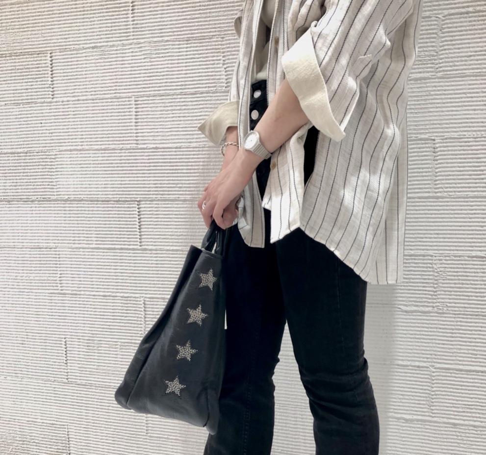 Scrap Book スクラップブックatneK アトネック キャンバスバッグ canvas 日本ブランド バッグブランド 星バッグ スター 牛革 トートバッグ ショルダーバッグ a4サイズ