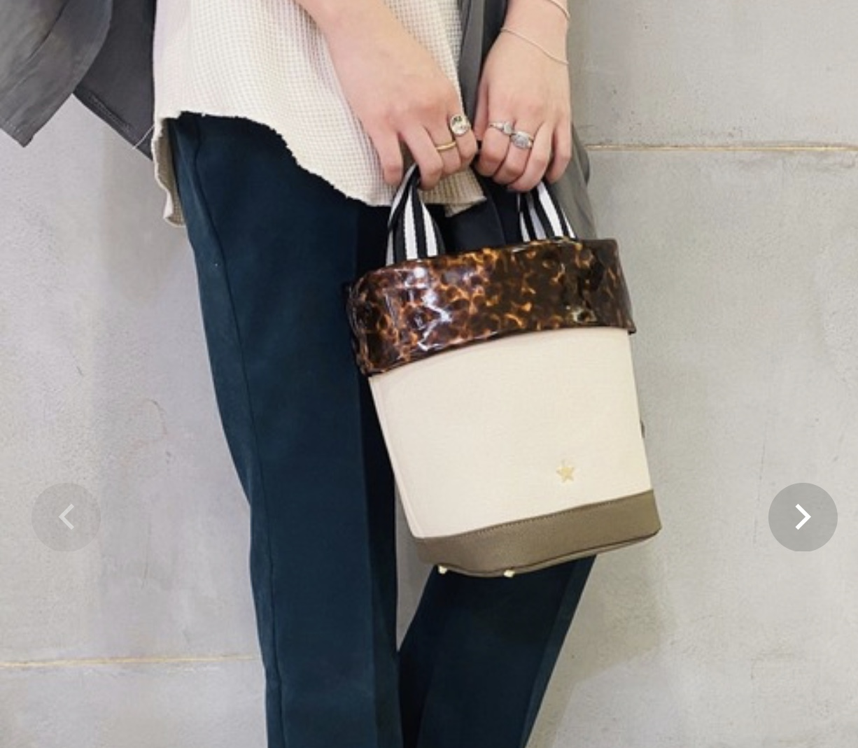 Scrap Book スクラップブック atneK アトネック キャンバス べっ高 ストライプ トートバッグ ハンドバッグ キャンバスバッグ canvas 星 帆布 底鋲付き 日本ブランド