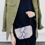 scrap book スクラップブック shoulder bag ショルダーバッグ python パイソン mini bag 日本製