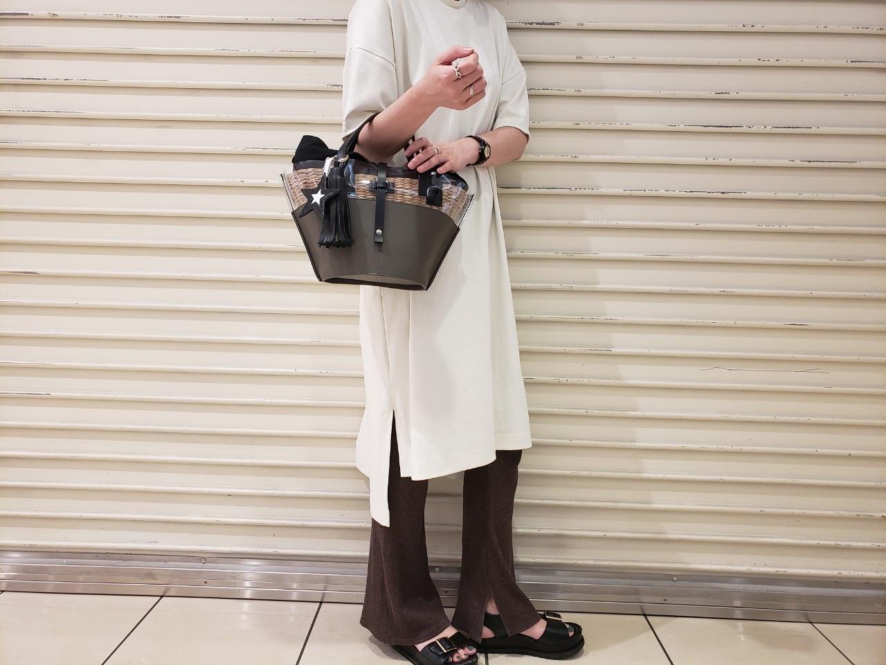 ikot イコットScrapBook スクラップブック bag バッグ basket bag カゴバッグ 牛革 ルミネ大宮 大宮ルミネ