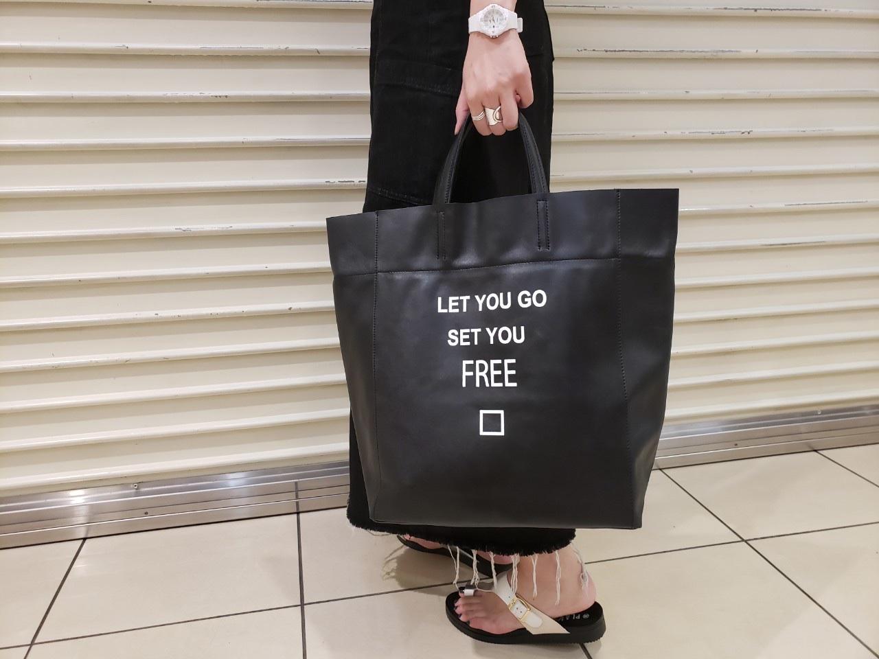 intoxic. イントキシック ScrapBook スクラップブック tote bag トートバッグ A4サイズ ステアレザー ルミネ大宮 大宮ルミネ