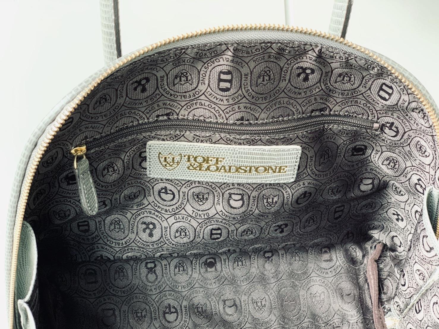 TOFF&LOADSTONE トフアンドロードストーン scrap book スクラップブック トートバッグ tote bag ハンドバッグ 牛革 日本ブランド 日本製 型押し リザード型押し