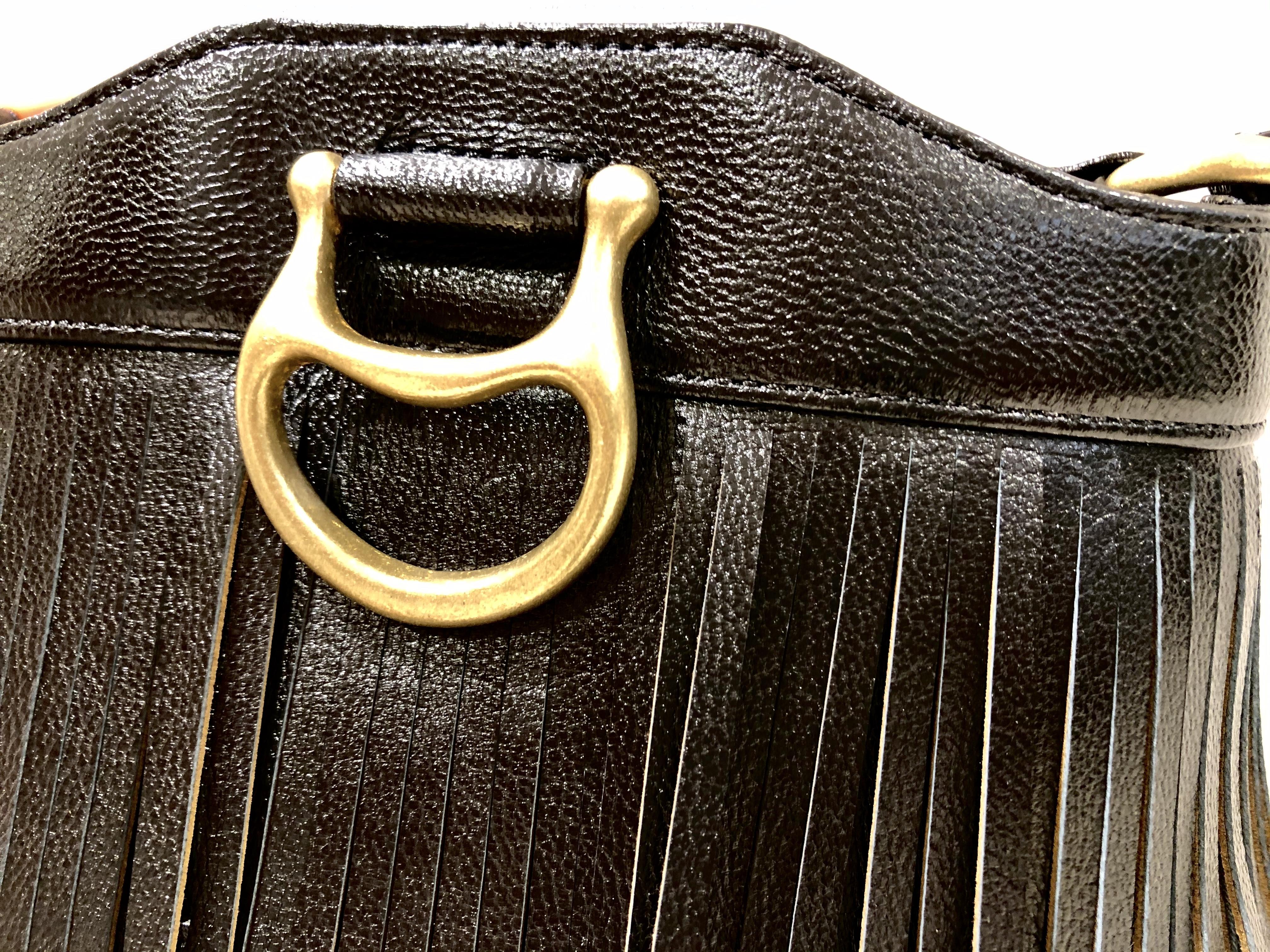 TOFF & LOADSTONE トフ ScrapBook スクラップブック 山羊皮 ショルダーバッグ shoulderbag フリンジ 真鍮 ルミネ大宮 大宮ルミネ