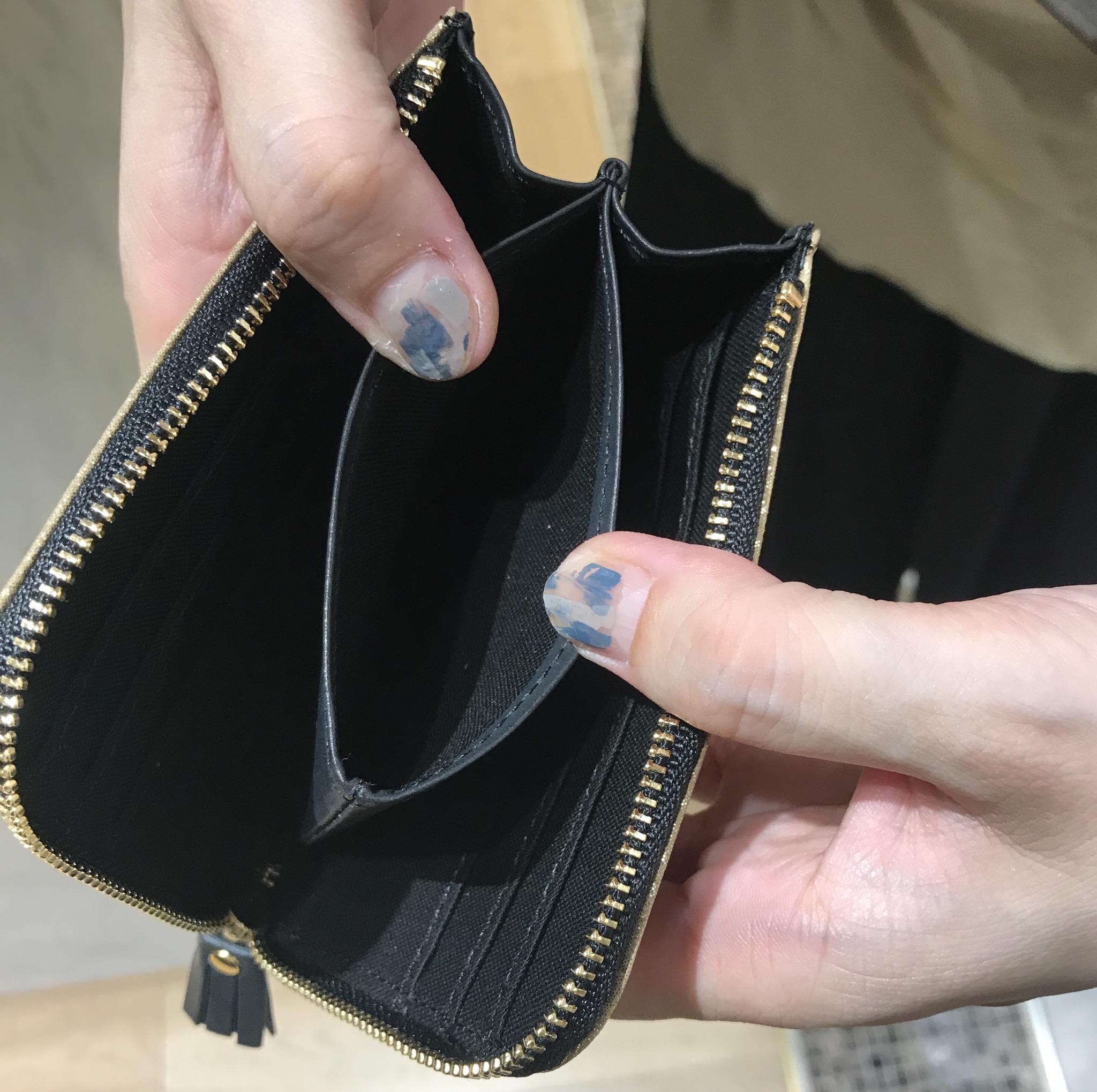 POMTATA Scrap Book ポンタタ スクラップブック 渋谷ヒカリエShinQs 日本製 日本ブランド レザー 本革財布 L字ファスナーウォレット wallet 薄型財布 職人