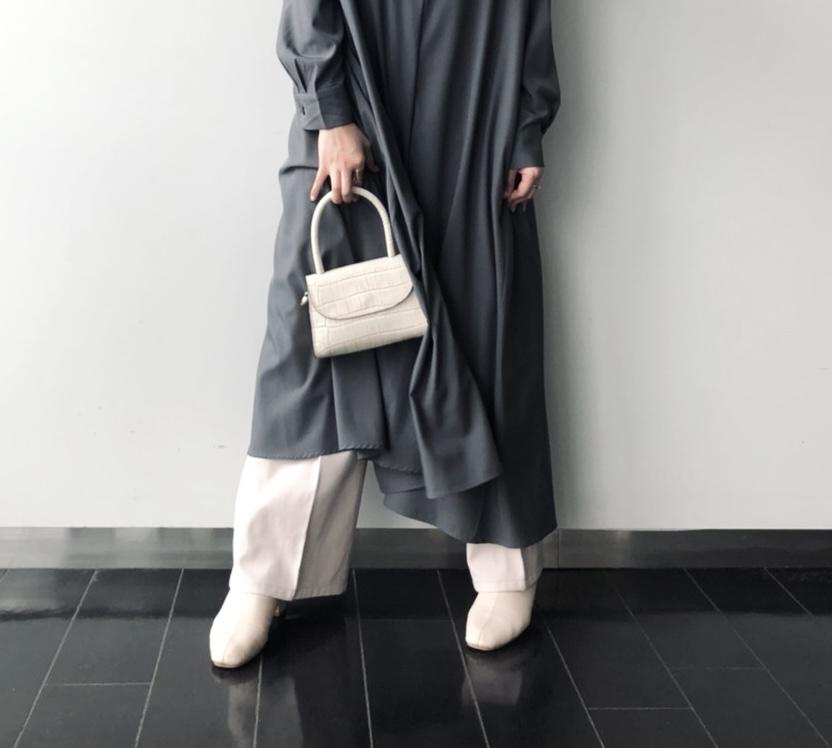 MA03-111-MICOL MINI  scrap book スクラップブック 有楽町マルイ マラント MARANT  クロコハンドルショルダー hand shoulder bag